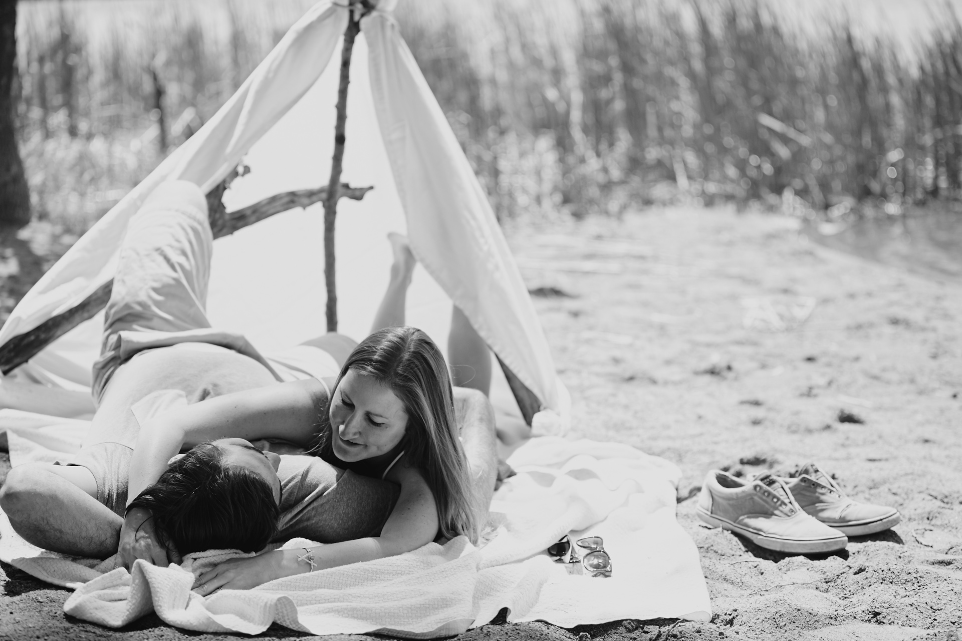 Cordelia Haugen Beach Day Engagement Session