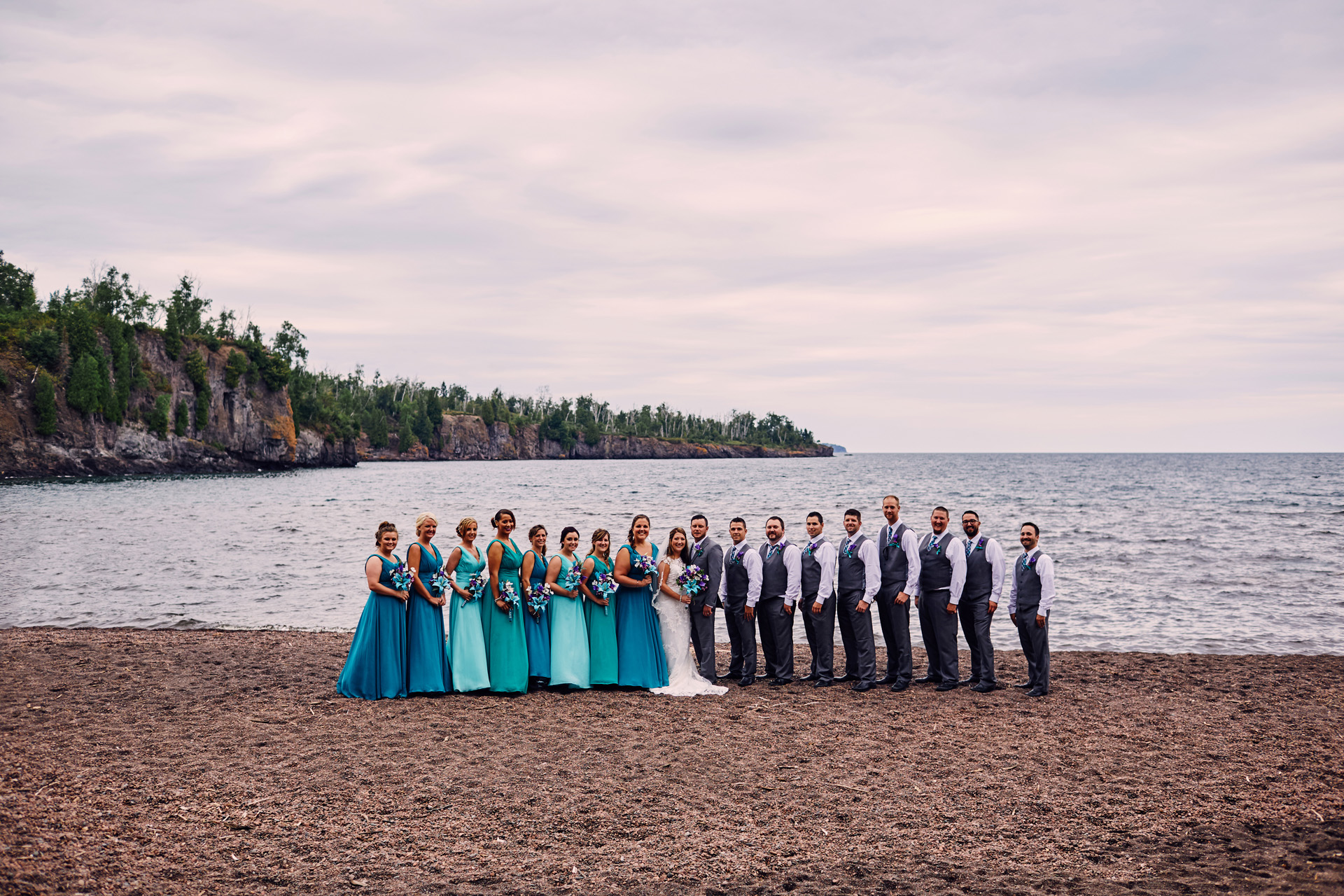 Cordelia Haugen Photographer Gooseberry Falls Wedding