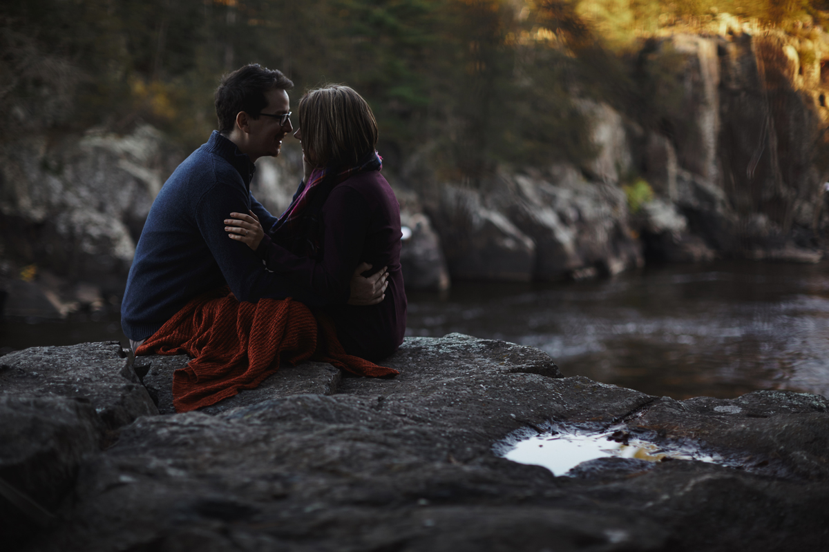 Interstate State Park Engagement Session Cordelia Haugen: Photographer